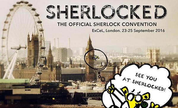 Sherlocked - The official Sherlock Convention event