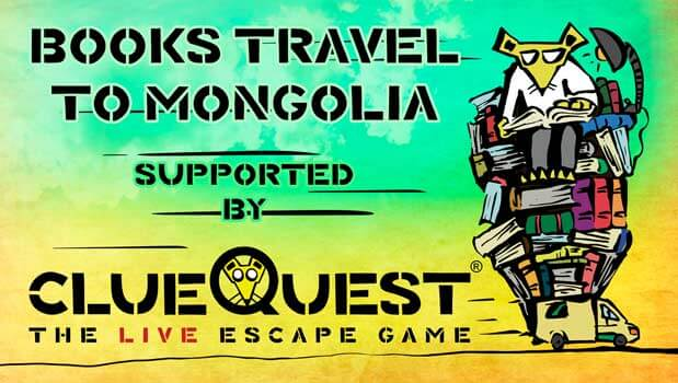 Books Travel to Mongolia Supported By clueQuest
