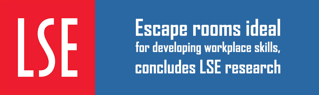 Escape rooms ideal for developing workplace skills