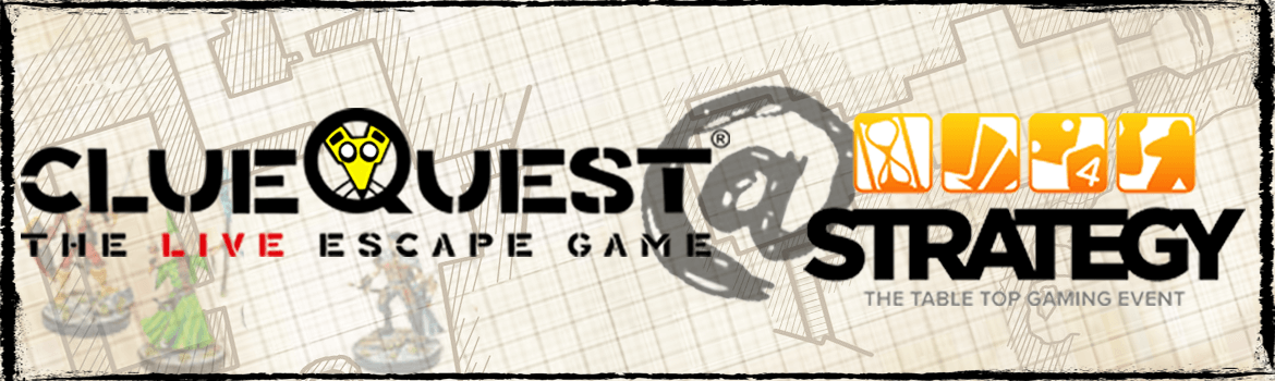 clueQuest The Live Escape Game at Strategy The Table Top Gaming Event