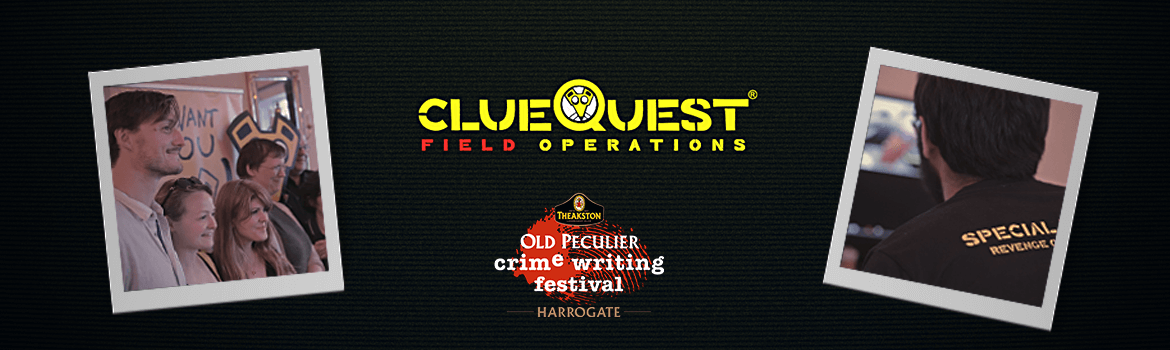 Old Peculier crime writing festival Harrogate - clueQuest