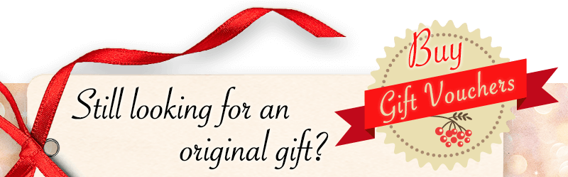 Still looking for an original gift? Gift Vouchers cluequest