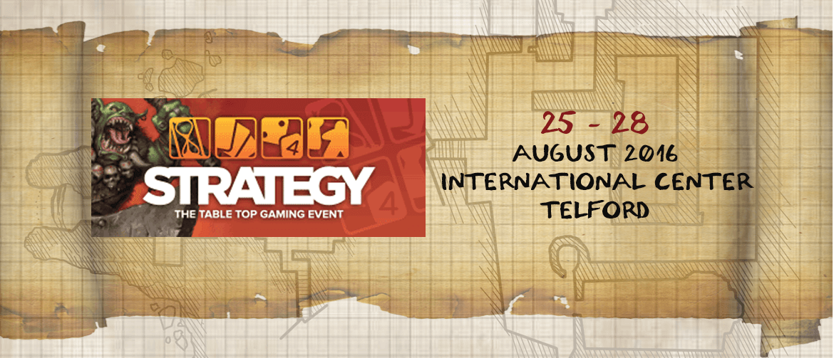 Strategy the table top gaming event August 2016 International center Telford