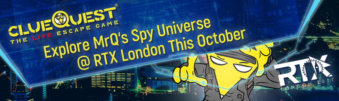 Enrol in Secret Agent Boot(h) camp with clueQuest and RTX London.